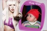 Marco para fotos con Lady Gaga