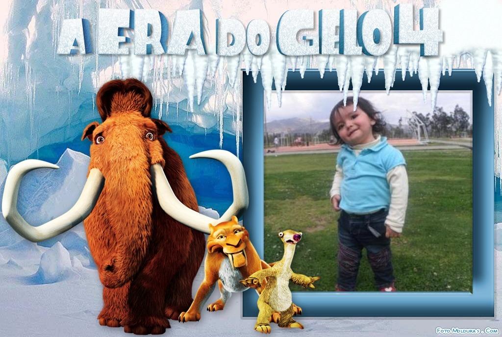 Fotomontaje la era de hielo 4