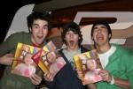 Fotomontaje gratis con los Jonas Brothers