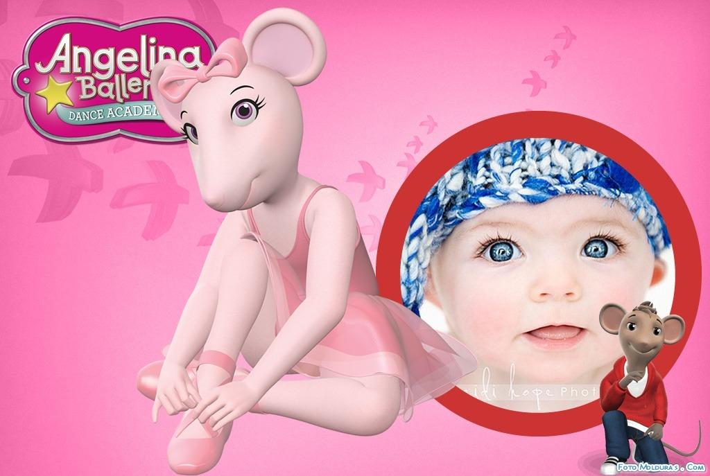 Crear fotomontajes infantiles con angelina ballerina