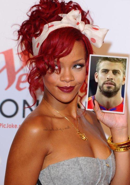 Fotomontaje gratis con la cantante y actriz Rihanna
