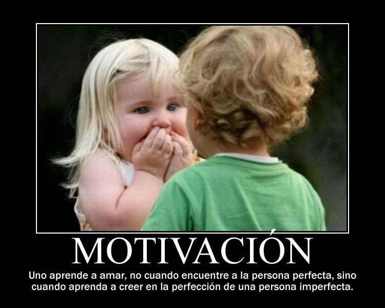 Motivaciones de amor