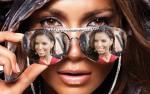 Fotomontajes divertidos gratis en los lentes de Jenifer Lopez