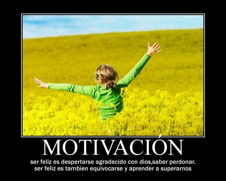 Motivación felicidad