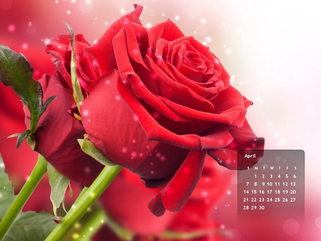 Crear wallpaper con calendario del mes de abril