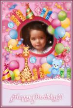 Marcos infantiles para decorar fotos gratis