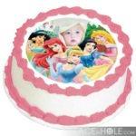 Fotomontaje infantil de cumpleaños (disney princesas)