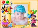 Marcos para fotos de cumpleaños infantiles