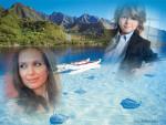 Collage de fotos con paisajes