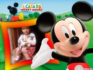 Fotomontaje gratis con mickey mouse