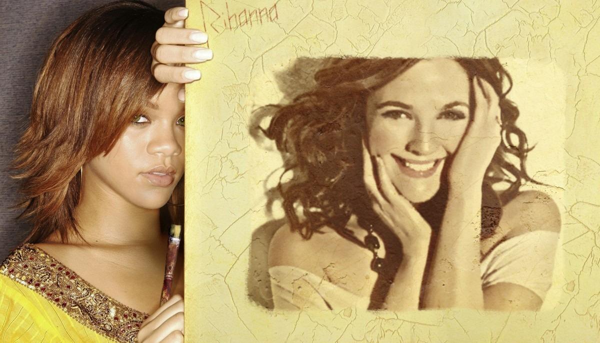 Fotomontajes con famosos Rihanna