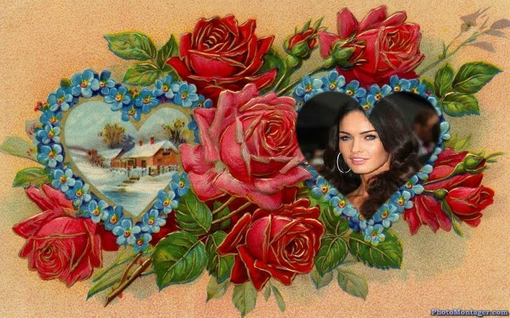 Marcos para fotos con flores