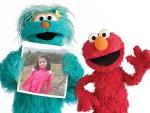 Fotomontaje con Elmo y sus amigos