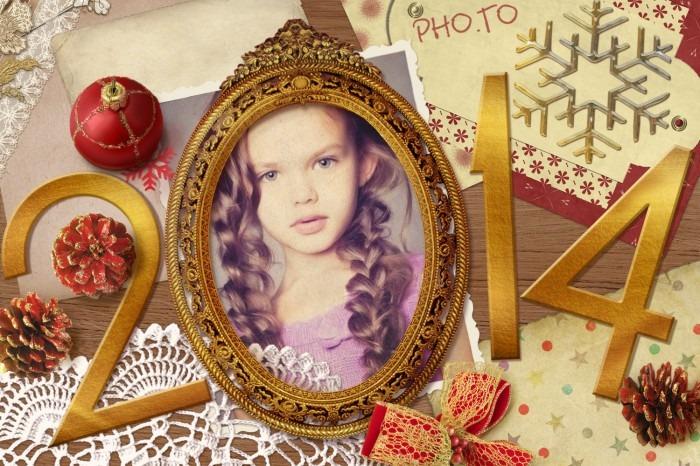 Marcos para fotos de año nuevo 2014