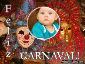 Marcos para fotos con efectos de carnaval