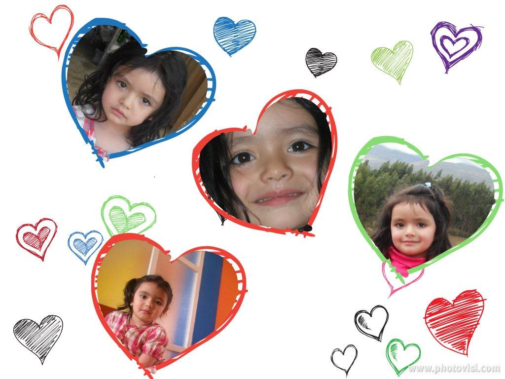 Pagina para hacer collage de corazones editar fotos online - Como hacer un collage de fotos a mano ...