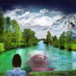 Fotomontajes con hermosos paisajes