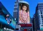 Fotomontaje de publicidad en un edificio