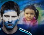 Fotomontaje gratis con Lionel Messi
