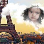 Fotomontaje gratis con la torre Eiffel