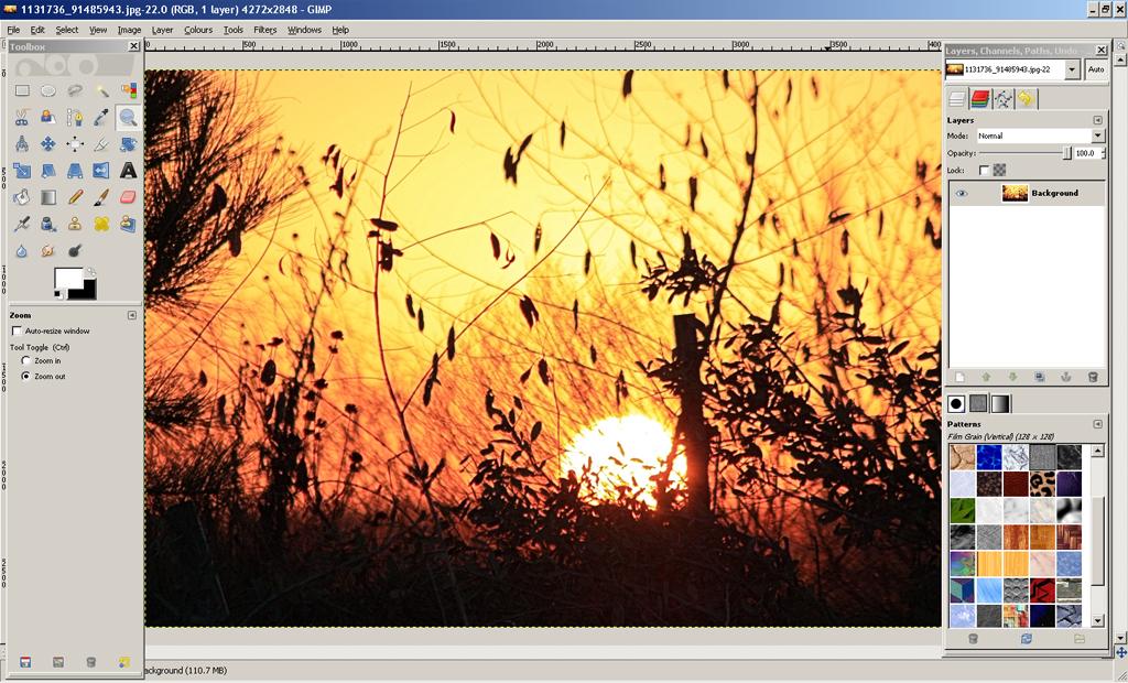 Software de edición de fotos- GIMP | Editar Fotos Online