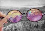 Espectacular montaje visto desde unos lentes