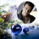 Decora tus fotos gratis con adornos navideños