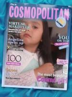 """Aparece en la portada de la famosa revista """"Cosmopolitan"""""""