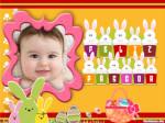 Personaliza tus fotos con un marco de Pascua!