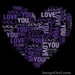 Mosaicos de letras para hacer tus frases favoritas!