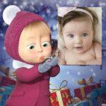 Celebra la navidad junto a Masha  con este montaje infantil!