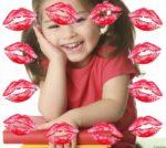 Añade un marco con muchos besos a tus fotos
